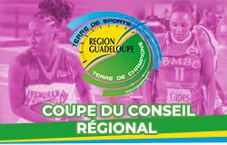 Demi-final Sénior féminin Coupe du Conseil Régional de basketball