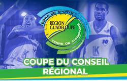 Demi-final Sénior masculin Coupe du Conseil Régional de basketball